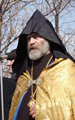 His Beatitude Archbishop Pargev Martirosyan, Head of the Diocese of Artsakh of the Armenian Apostolic Church (NKR).