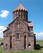 Cathedral of the Holy Mother of God of the Harichavank Monastery.